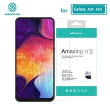 Sfor Samsung A30 cam Nillkin İnanılmaz H+Pro 0.2MM ekran koruyucu temperli cam Samsung Galaxy A50 A20 a30 A70 A30S A50S