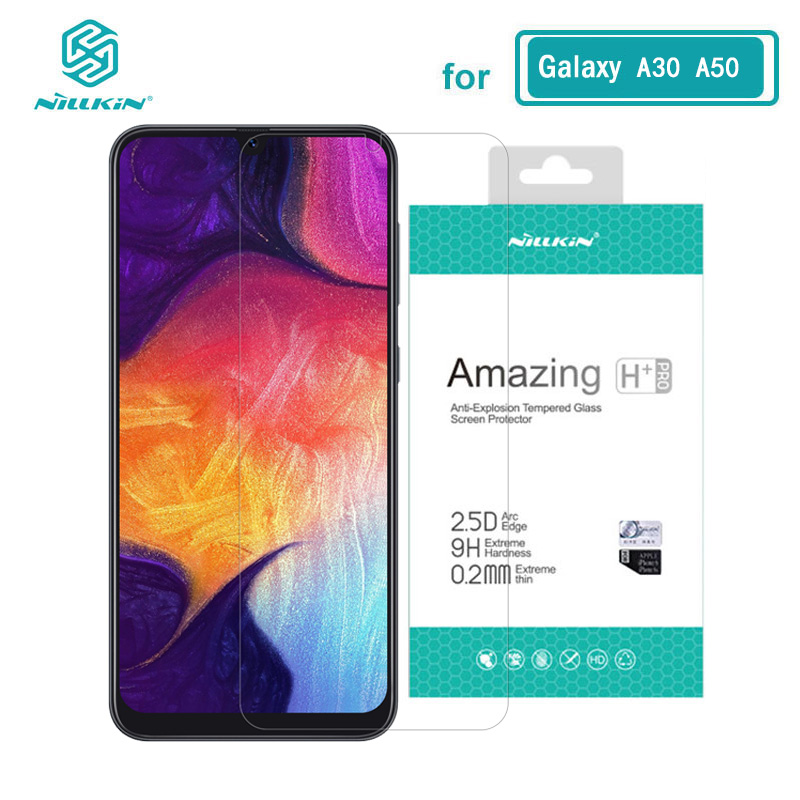 Sfor Samsung A30 Glass Nillkin Amazing H+Pro 0.2MM Screen Protector Tempered Glass For Samsung Galaxy A50 A20 A30 A70 A30S A50S