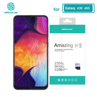 sfor Samsung A30 Glass Nillkin Amazing H+Pro 0.2MM Screen Protector Tempered Glass for Samsung Galaxy A50 A20 A30 A70 A30S A50S|Phone Screen Protectors| |  -
