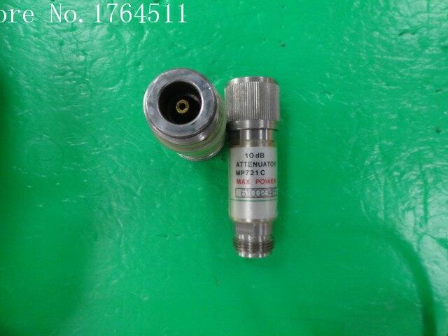 [BELLA] ANRITSU MP721C DC-12.4GHz 10dB 2W RF Coaxial Fixed Attenuator N