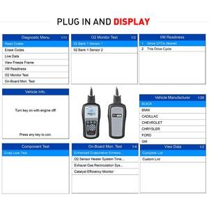 Image 4 - Autel Maxilink ML619 OBD2 Scanner ABS SRS CAN OBDII OBD 2 Code Reader Car Auto Diagnostic Tool PK AL619 Free Update Lifetime