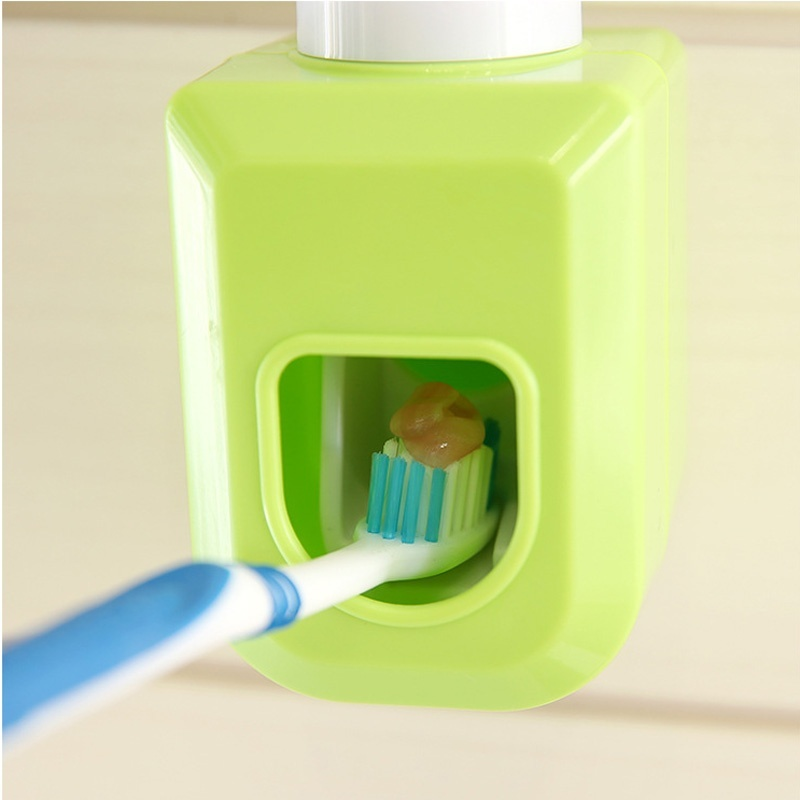 Creative Plastic Wall Adhesive Automatic Toothpaste Squeezer Bath ...