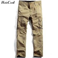 HALACOOD 2017 Best Quality Men's Pants Mr Cargo Casual Pants Combat Army Active Military Work Cotton Male Plus Size Trousers Fat