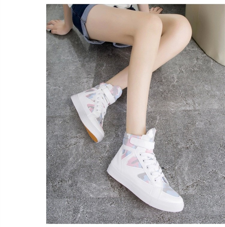 LOVE Fashion High Top Casual Shoes For Women Canvas Shoes 2015 New Autumn Ankle Boots Breathable Ladies Shoes Student Flats YD28 (4)
