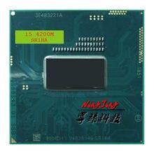 Intel Core i5-4200M i5 4200 M SR1HA 2.5 GHz Çift Çekirdekli Dört Iplik Işlemci işlemci 3 M 37 W Soket G3/rPGA946B