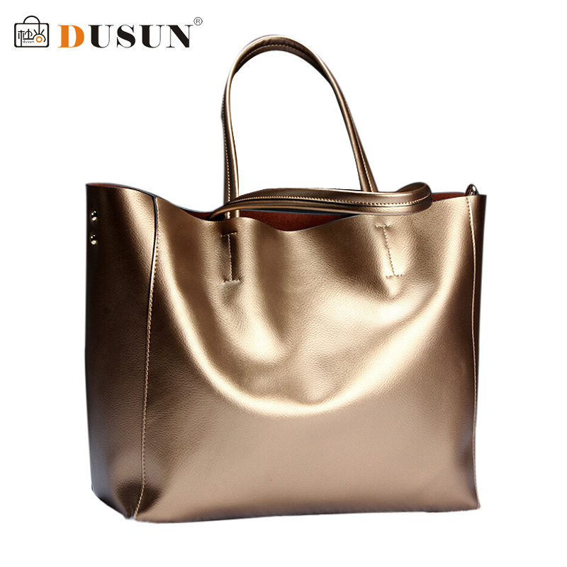 DUSUN Brand women Genuine leather bags Women Real leather Handbags Large Shoulde