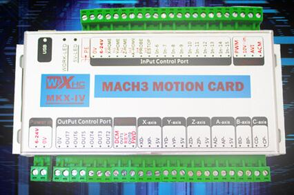6Axis USB CNC Mach3 Controller Card Interface Breakout Board 2000K cnc milling machine ethernet mach3 interface board 6 axis control