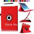Магнитная 360 вращающийся смарт стенд чехол для iPad Apple , мини 2 с сетчатки дисплей ( авто пробуждения / сна ) вт / фильм и стилус ( красный )