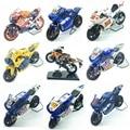 Newray 1:18 yamaha moto gp/hd bicicleta die-moldes modelo de moto con la caja original