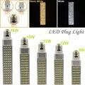 9W/12W/13W/15W/16W E27 G23 G24 LED Horizontal Plug Light Spotlight Bulb Lamp Light SMD5050 AC85-265V White/Warm White Hot Sale