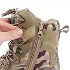 TENNEIGHT/уличные тактические ботинки для пустыни и охоты; мужские военные ботинки; камуфляжная спортивная обувь для альпинизма; обувь для путешествий и прогулок - 4