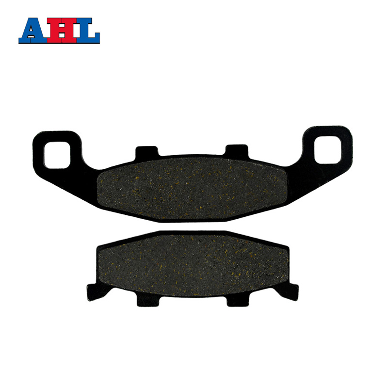 Motorcycle Brake Parts Brake Pads For KAWASAKI ZZR400 ZZR 400 ZX400 ZX 400 K1/K2/K3 1990-1992 Rear Motor Brake Disks #FA129 motorcycle brake parts brake pads for honda nv400 nv 400 cj ck steed 1992 1993 front motor brake disks fa124