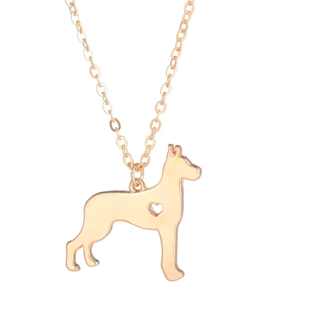 SALE Great Dane Necklace Large Dog Pendant Dog Breed Pet Jewelry ...