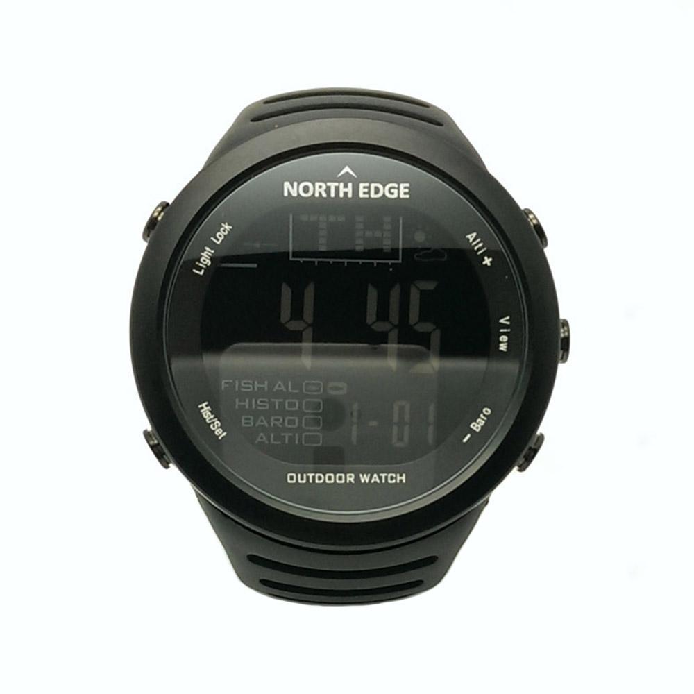 Prix pour NORTHEDGE Hommes Sport de Randonnée En Plein Air Montre Numérique De Pêche Altimètre Fonctionnement Météo Thermomètre Escalade Smart Clock Heure NE1.