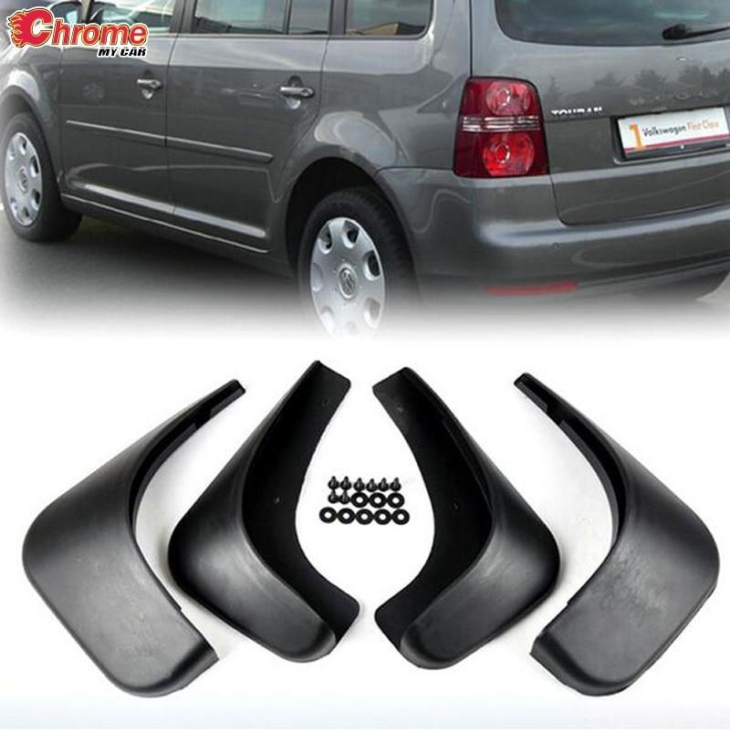 Брызговики передние и задние для Volkswagen Touran Caddy 2004-2010 2009 2008 2007 2006 2005