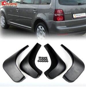 For Volkswagen Touran Caddy 2004-2010 2009 2008 2007 2006 2005 Front Rear Car Mud Flaps Mudflaps Splash Guards Mudguards Fender