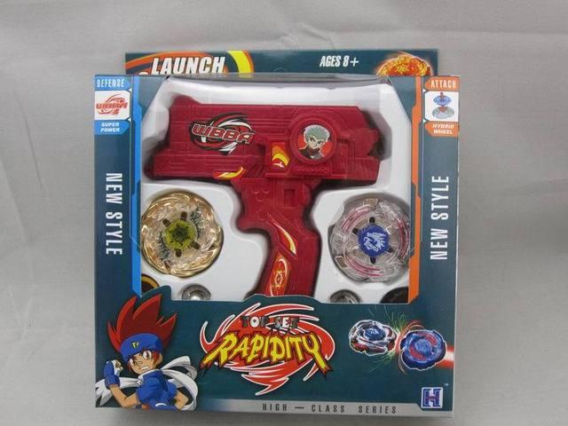 1 шт. Launcher Beyblade коробка набор продажи 4d продажи Металл Fusion гироскопа Игры Дети Игрушки beyblade игрушка набор Детей Рождество подарок