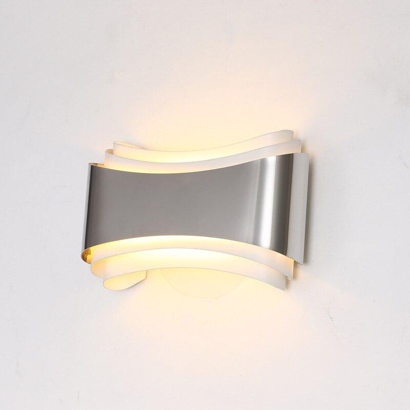 moderna lampada parede led para 01