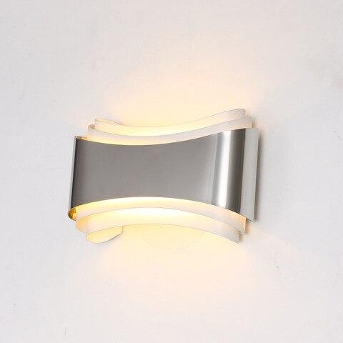 moderna lampada parede led para