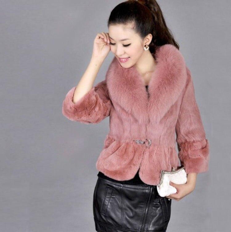 Online Get Cheap Rabbit Fur Jacket for Women -Aliexpress.com ...
