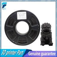 High Quality Black Color PLA Filament 1 75mm 1kg 2 2lbs Printing Materials For 3D Printer