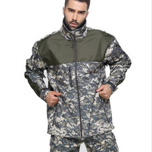 US army Military Men Waterproof camo Tactical Hunting Camping Jacket Fleece Thermal Tad Coat Outerwear warm Camouflage Clothes
