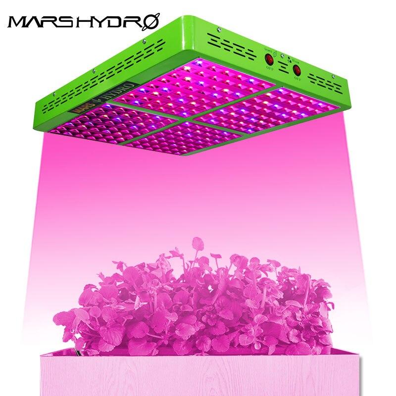 Mars гидро отражатель полный спектр 1000 Вт светодиодные лампы для выращивания Крытый садовый парник Гидропоника профессиональные посадочные