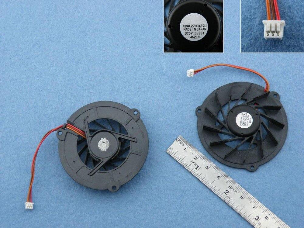 New Laptop Cooling Fan For ASUS L5G L5GA L5800GA P/N UDQF2ZH34FQU CPU Cooler Radiator