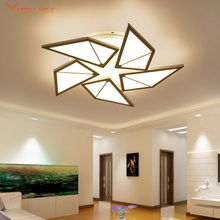Brief LED Ceiling Light Modern Surface Mount Lighting Fixture Creative Stylish Ultra-thin Lamp AC 110-240V