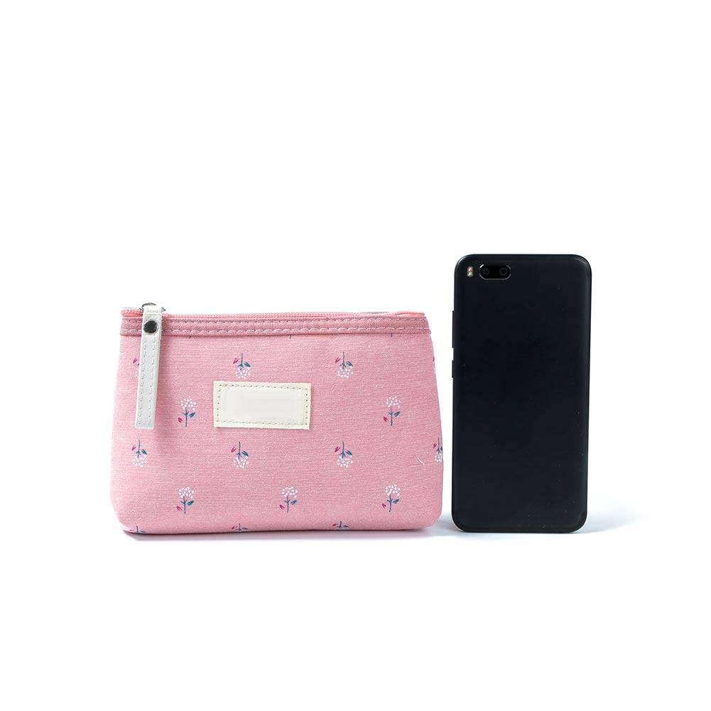 Women Travel Cosmetic Bag Brush Organizer Printing Zipper Toiletry Case Lady Makeup Bags LBY2018