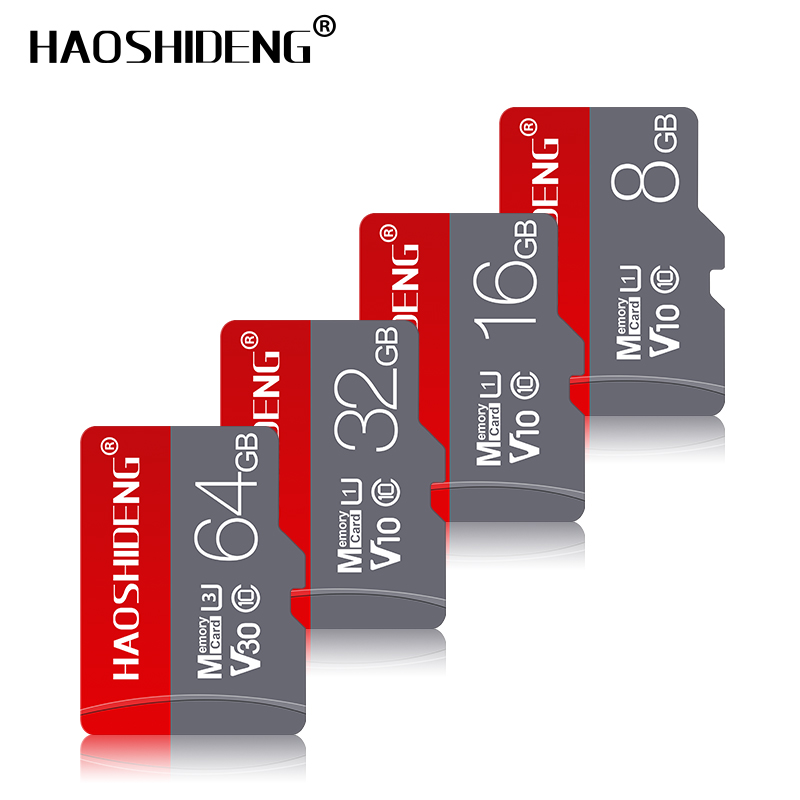 Top Quality Micro SD Memory Card 128GB 64GB 32GB 16GB 8GB Class 10 TF Card Micro SDHC/SDXC Flash Memory Cards For Mobile/Tablet