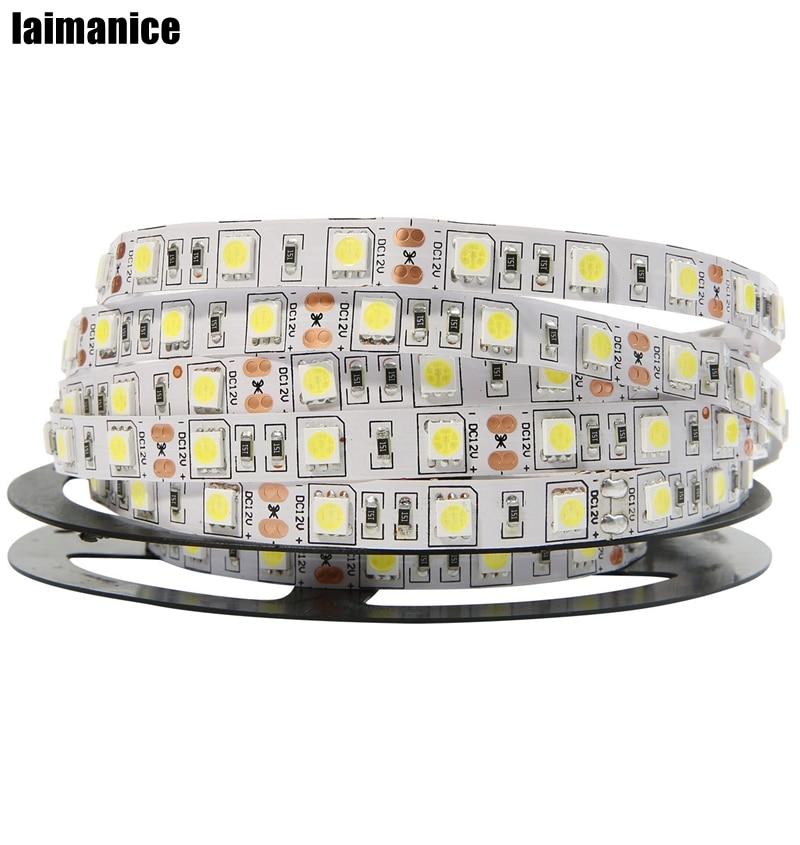 12V Power Supply 300 Led Strip Lights White Yellow RGB Color for Celebration