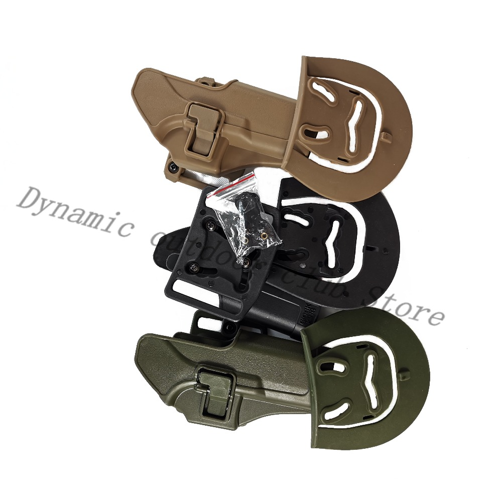 Tactical Holster Glock 19 Pistol Gun Holster Coldre Glock 17 Accessories Army Combat Airsoft Case Hunting Accessories in Holsters from Sports Entertainment