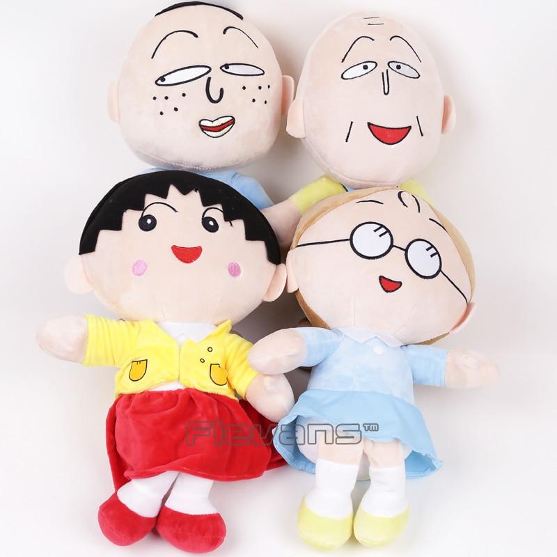 Cartoon Cute Chi Bi Maruko Chan Sakura MomokoPlush Toys