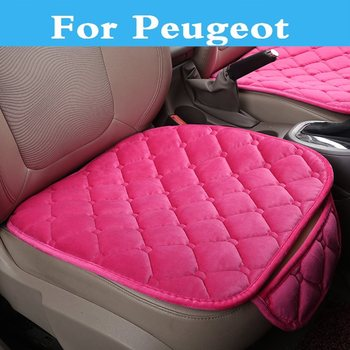 New Breathable Car Interior Seat Cover Cushion Mat Auto Chair Pad For Peugeot 1007 107 108 2008 206 207 208 208 GTi 301 307 3008 image