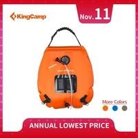 KingCamp 20L Water Bag Foldable Solar Energy Heated Camp PVC Shower Bag Portable Outdoor Solar Energy Heated Camp Shower Bags