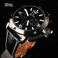 V6 Марка Моды для Мужчин Необходимые Спортивные Большой Циферблат Мужчины Часы Бизнес Кварцевые Наручные Часы Relogio мужской 1042