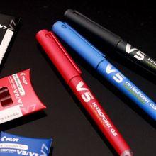 Пилот HI-TECPOINT картридж система BXC-V5 BXC-V7 гелевая ручка V5 V7 ручка многоразового использования 0,5 мм 0,7 мм Япония