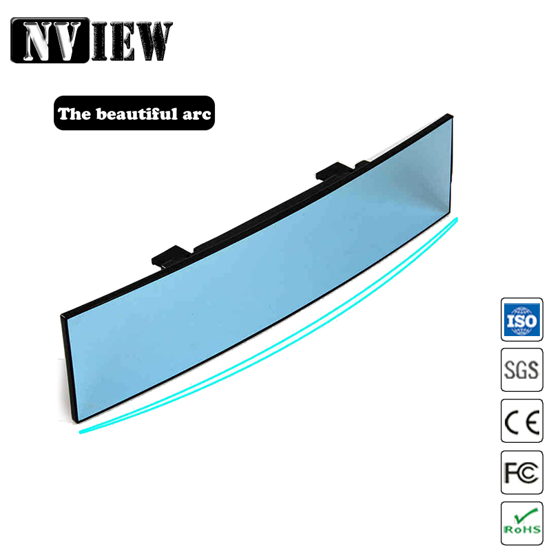 NVIEW Universal Car Auto Wide Large Angel 300mm Curved Rear View Endoscope Convex Mirror Car Styling Covers For Back Seat Child