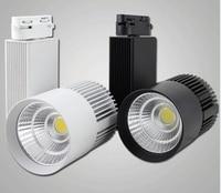 High Power LED Track Light 30W COB Rail Light Spotlight Equal to 300w Halogen Lamp 110v 120v 220v store shop decoration