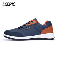 New Men Light Weight Running Sports Shoes Outdoor Athletic Trainers Sneakers Male 2017 Blue