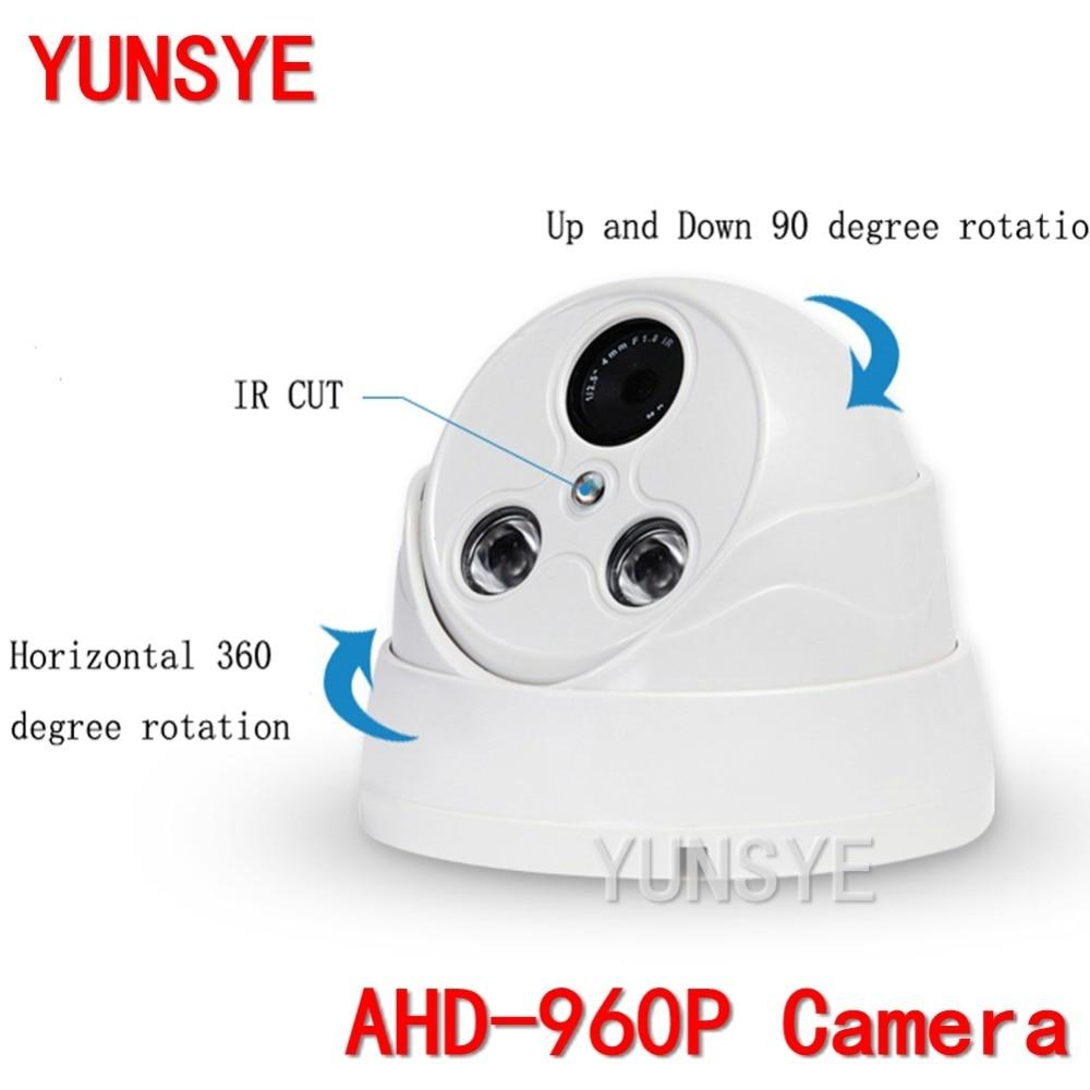 2016 NWE Guard camera 1.3MP AHD 960P CCTV Camera Outdoor 2PCS Array IR LED 20m IR range White Bullet Security Surveillance Cam the white guard