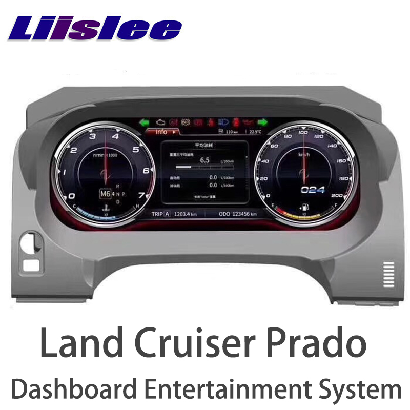 LiisLee Android инструмент Панель Замена приборной панели развлечения Системы для Toyota Land Cruiser Prado J150 LC150 2009 ~ 2018
