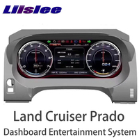 LiisLee Android Instrument Panel Replacement Dashboard Entertainment System for Toyota Land Cruiser Prado J150 LC150 2009~2018