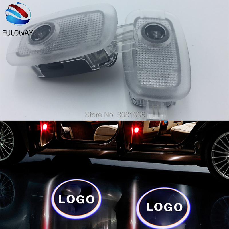 For Mercedes W221 Benz S Class S500 S350 S63 S65 LED Welcome Car Door Courtesy Shadow Logo Lights Projector Laser Ghost Shadow auto fuel filter 163 477 0201 163 477 0701 for mercedes benz
