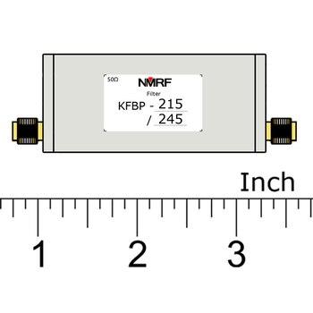 Free shipping KFBP-215/245 215~245MHz VHF band bandpass filter, SMA interface