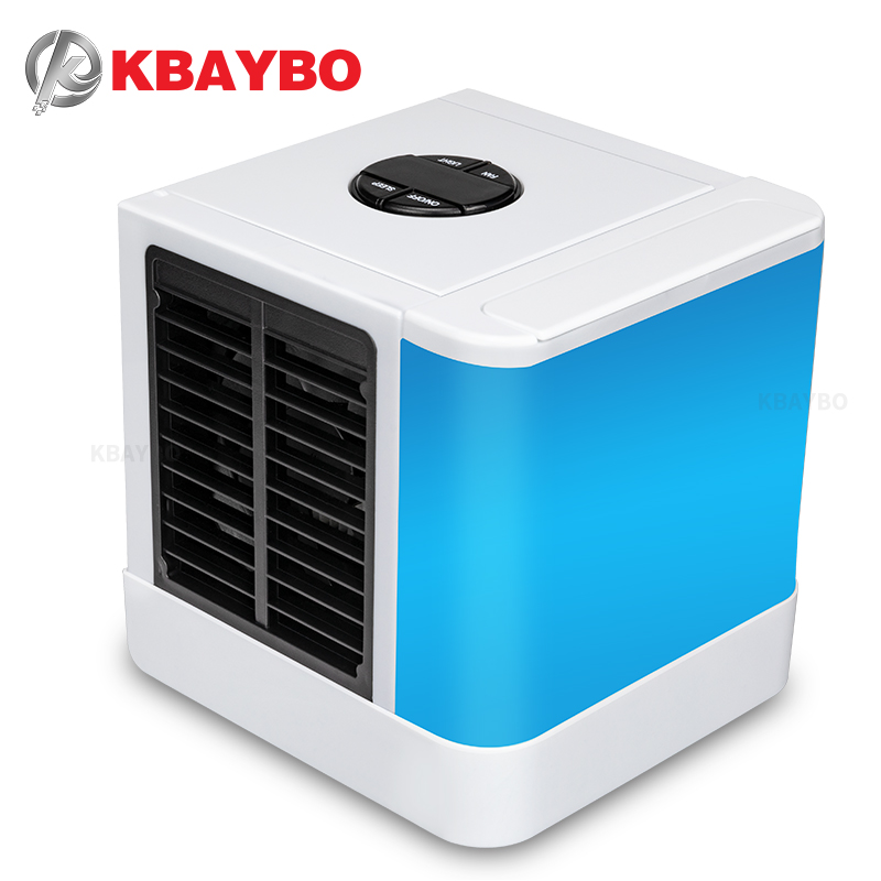 KBAYBO 2018 USB portable electric Fans air conditioner air cooler mini fan table fan cooling for home office new usb mini cooling fan portable air conditioner for cars office table water air conditioner ventilator