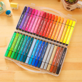2019 Color Mark Pen Art Marker Drawing Set Colors Children Watercolor Safe Non-toxic Water Washing Graffiti Health - discount item  21% OFF Pens, Pencils & Writing Supplies