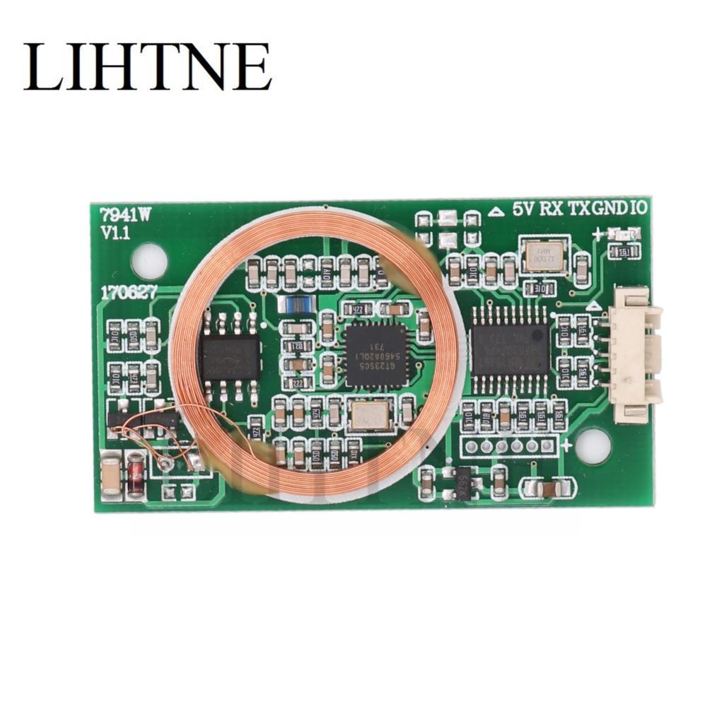 RFID 13.56 mhz 125 khz Double Fréquence Lire/Écrire Module Uart MF1 Classique T5577 UID