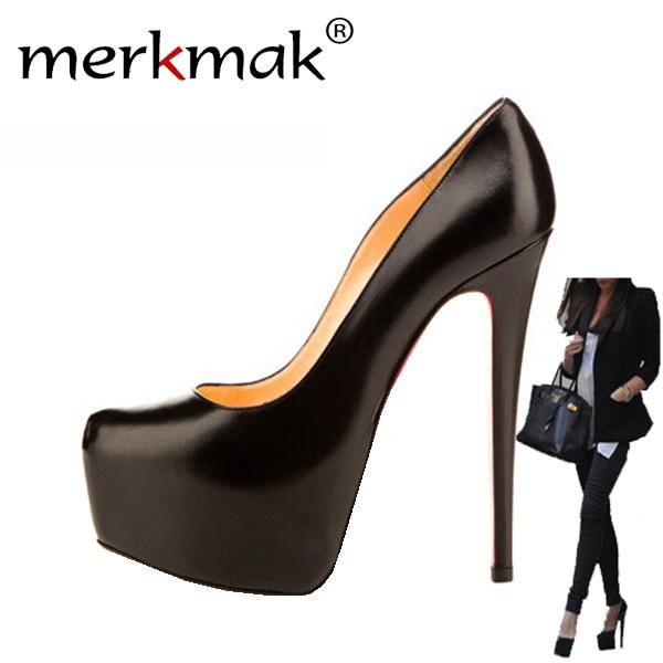 ФОТО New 2017 14cm heel new fashion wedding party women high heels women pumps shoes women Sapatos Femininos Free Shipping